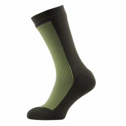 Hiking Mid Mid wasserdichte Wandersocken Golden Moss DK Olive von Sealskinz