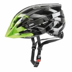 i-vo c Fahrradhelm für Einsteiger Dark Silver Green Uvex