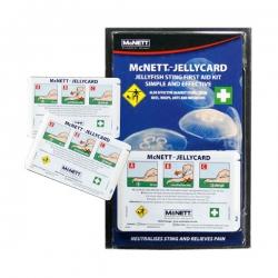 Erste Hilfe Set für Quallenstiche Jelly Card McNett