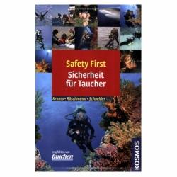 Saefty First Sicherheit für Taucher Kosmos Verlag 208 Seiten
