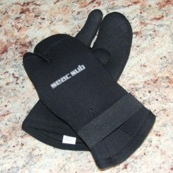 Gr.L 3Finger 5mm Neopren Handschuhe von Seac Sub