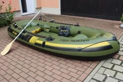 Fish Hunter 360 Schlauchboot inkl. Paddel und Zubehör Sevylor gebraucht