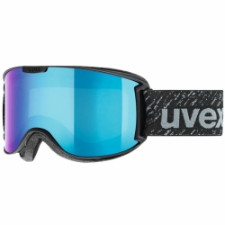 Skyper LM Light Mirrow Black Mat Skibrille Uvex
