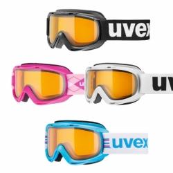 Uvex Kinder und Frauen Skibrille Slider mit lasergold lite S1 Linse