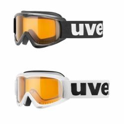Uvex Kinderskibrille Snowcat mit lasergold lite S1