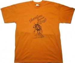 T Shirt Tauchen macht Spaß in Orange in Funshirt