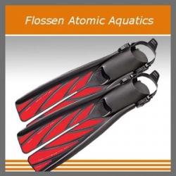 Splitfins Flossen Rot Atomic Aquatics Geräteflossen