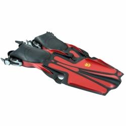 Sports Fin Geräteflossen von Poseidon in Rot