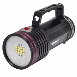 Riff Profi Video Unterwasserlampe LED mit Rotlicht