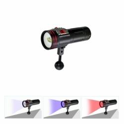 Riff TL-MLV Videolampe mit 4 Farben Multilicht inklusive Weißabgleicharmband