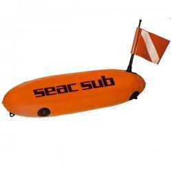 Signalboje Torpedoboje mit Flagge Seac Sub