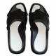 Pool Schuhe Badelatschen von Aquafeel in Schwarz