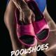 Profi Pool Schuhe Pink Damen Badepantoletten Aquafeel