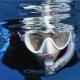 Alpha Ultra Dry Schnorchelset F1 Maskenset Cressi Weiss