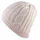 Cable Knit Beanie Creme mit wasserdichter Membrane von Sealskinz