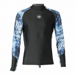 RASH GUARD AQUA UV Shirt Aqualung Langarm Herren